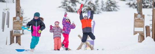skiing with children non-ski activities