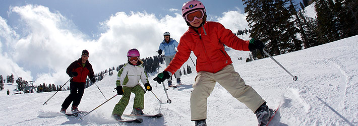 skiing-children