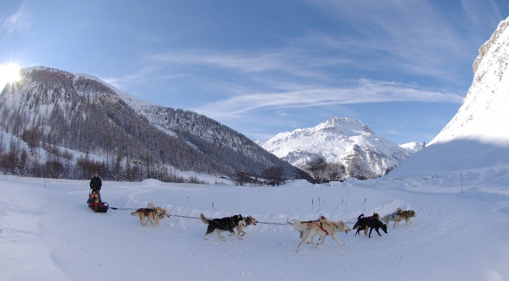 Val d'Isere, Husky Rides