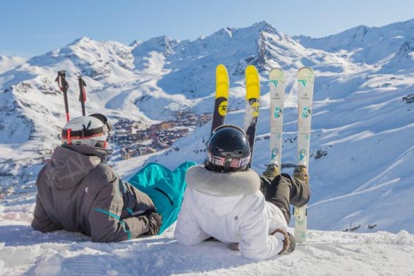 val thorens skiing