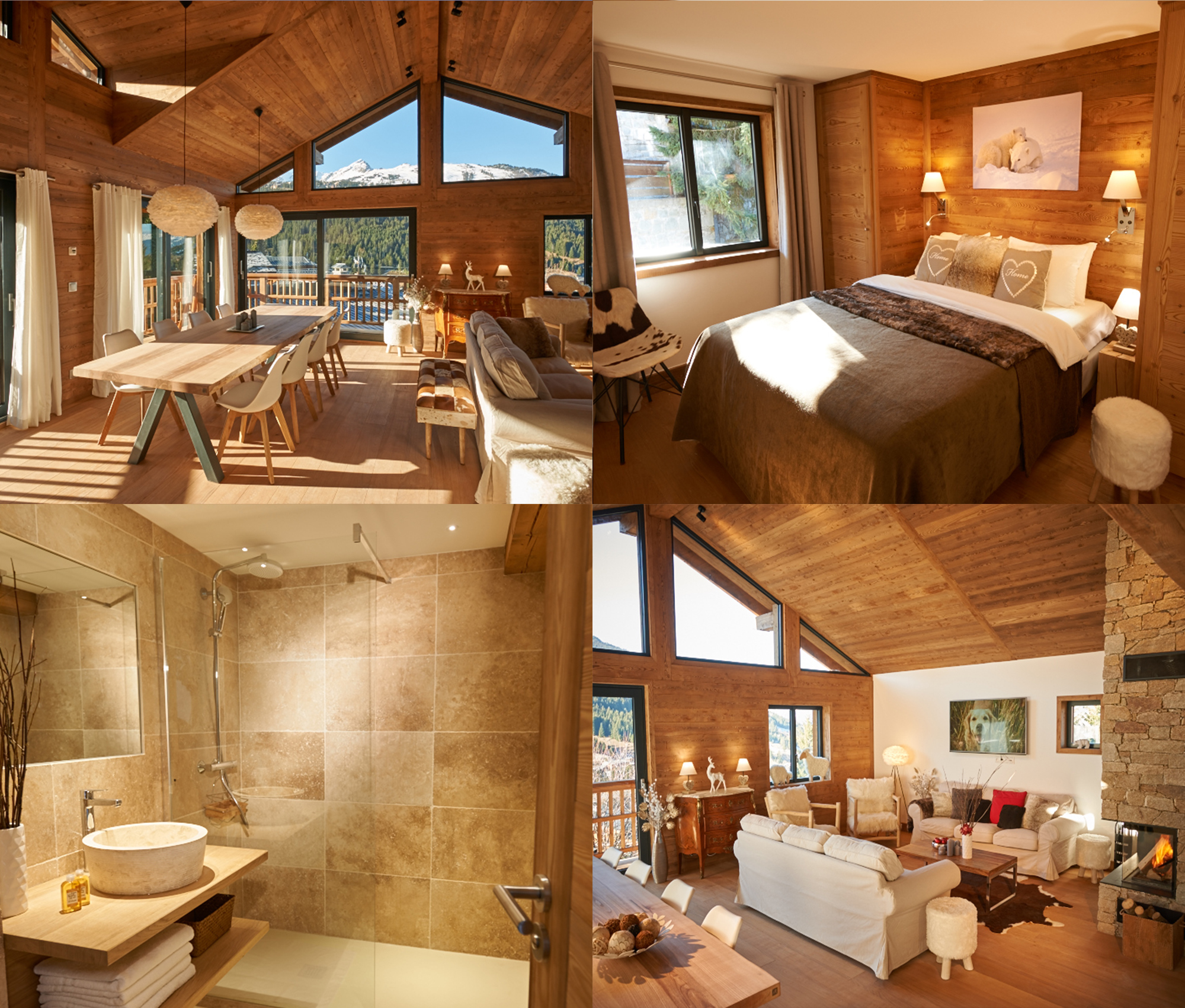 Chalets you can trust. Clarines d'Or, Courchevel 1850