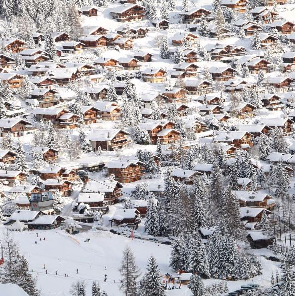 powder white verbier chalets
