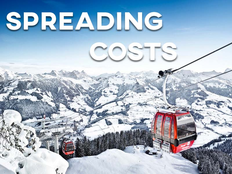 Spreading the costs of a ski holiday