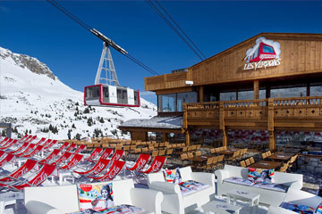 Courchevel Mountain Restaurant