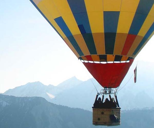 Hot Air Ballooning in courchevel