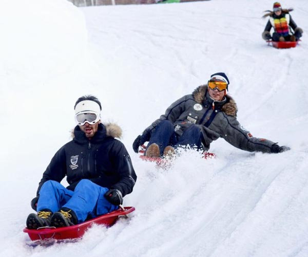 Courchevel Non Ski Activities Tobogganing