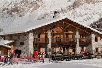 Val d'Isere Mountain Restaurants