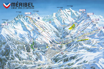 Meribel Ski Passes