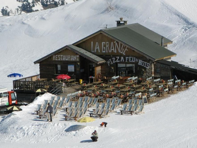 Alpe d'Huez Mountain Restaurants