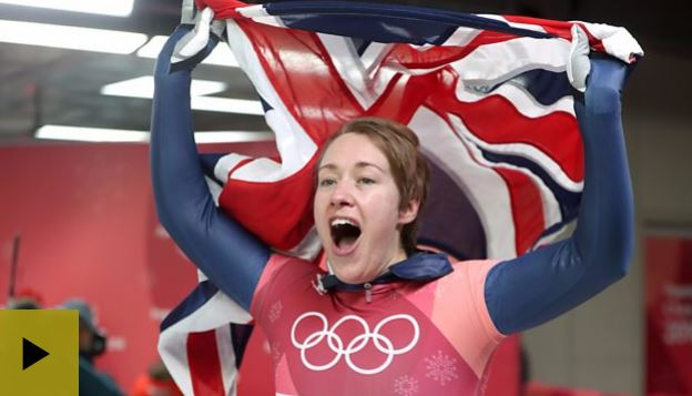 Lizzie Yarnold WINS GOLD