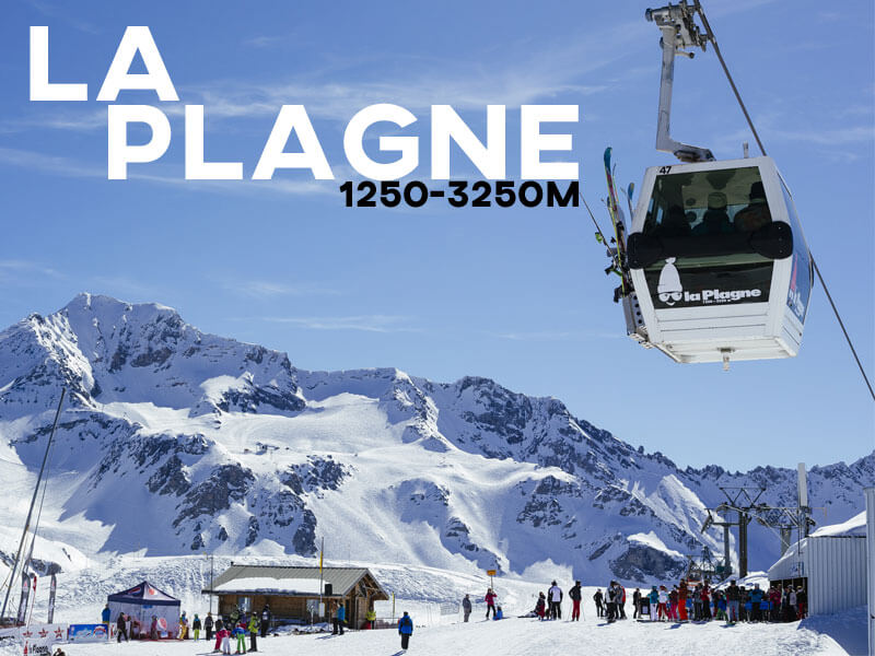 La Plagne Ski Resort | Powder White