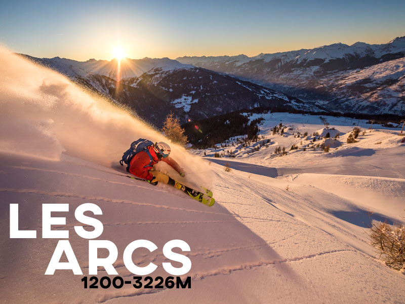 Les Arcs - Powder White