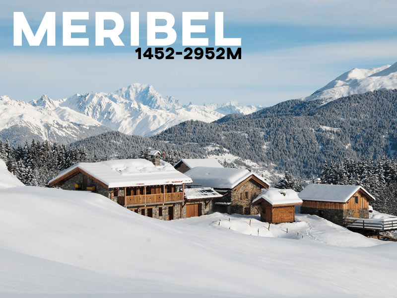 Meribel - Powder White