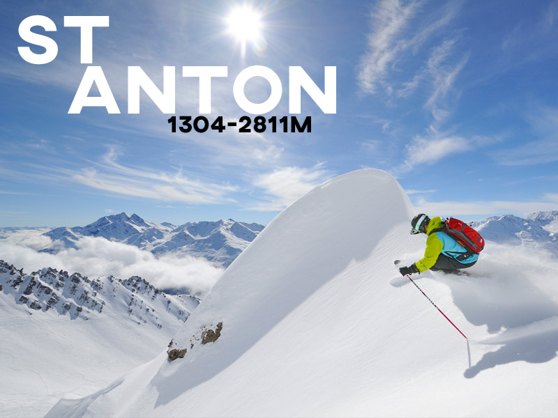 St Anton - Powder White