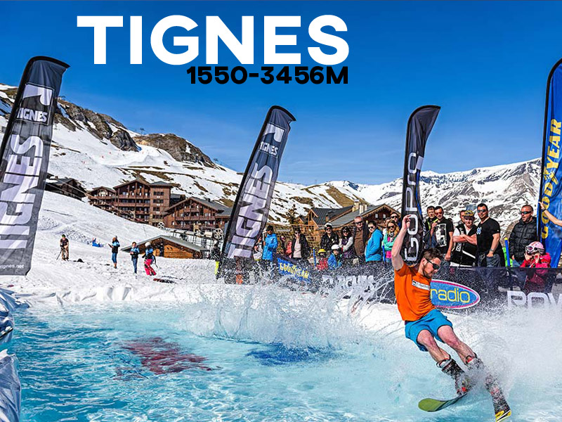 Tignes Ski Resort - Powder White