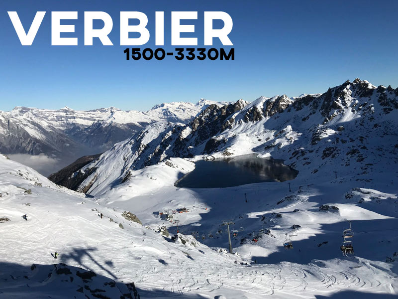Verbier - Powder White