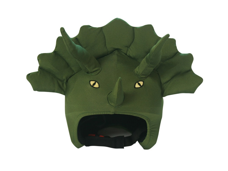 Coolcasc Animals Ski/Snowboard Helmet Cover, One Size, Triceratops -£24.95