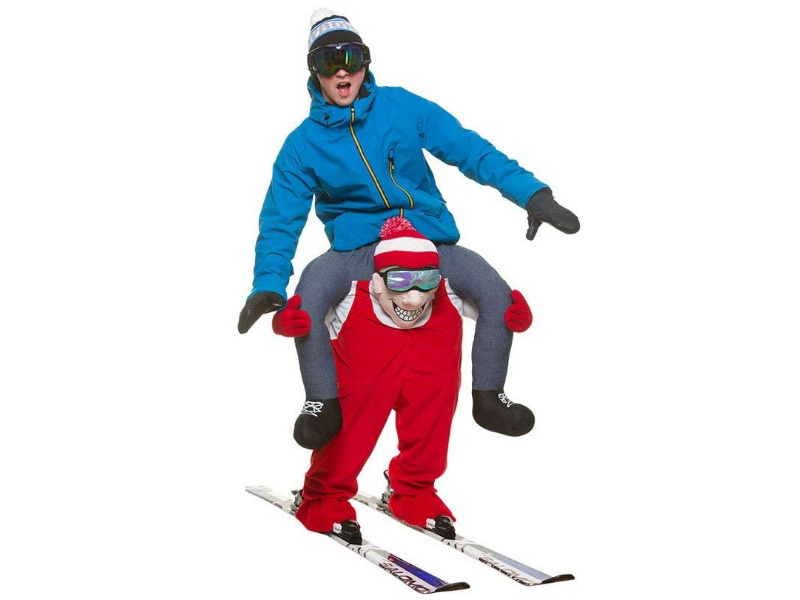 Carry Me® Skiier Adult Costume One Size