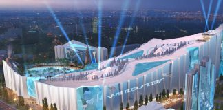 new ski resort in china