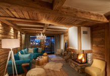 powder white chalets val d'isere