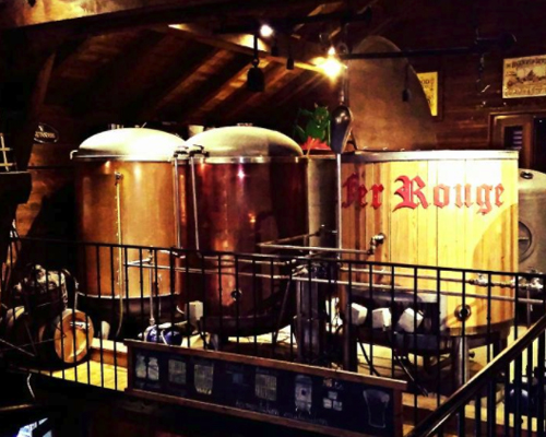 Le Fer Rouge Micro Brewery - Chatel