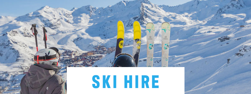 ski and boot hire - ski extras