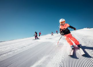 skiing with children top tips