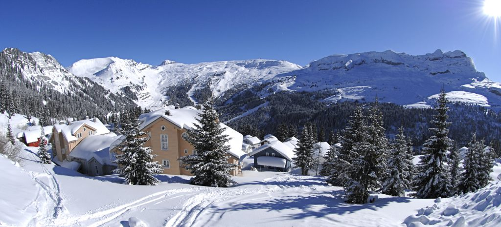 half term family friendly skiing in Flaine
