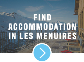 accommodation in les menuires
