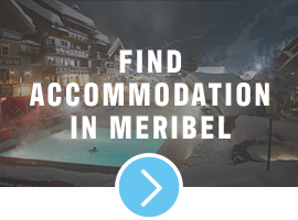 accommodation in Meribel