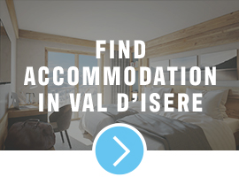 accommodation in val disere
