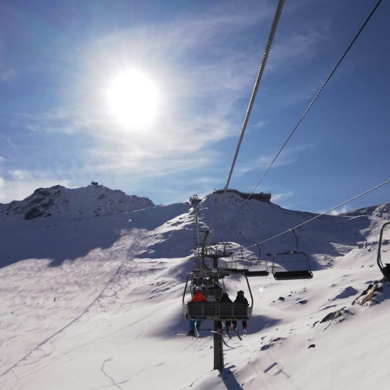 Cervinia Skiing