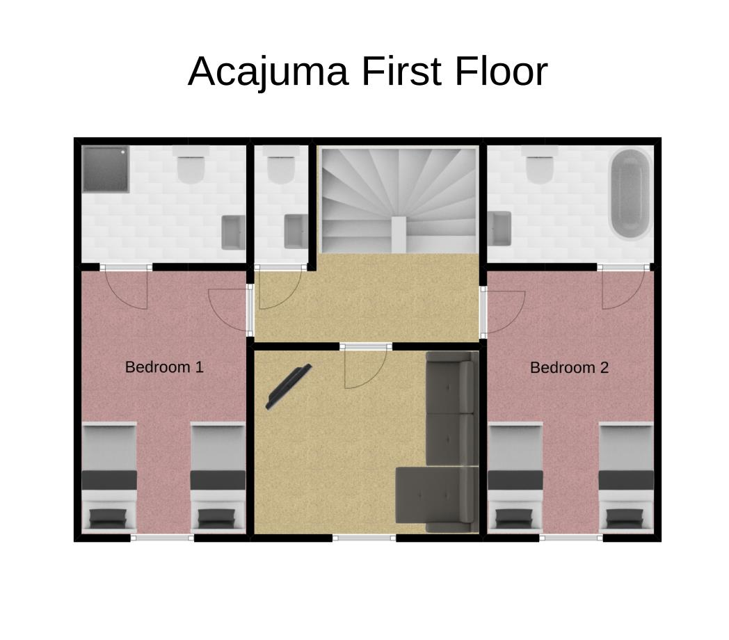 Chalet Acajuma First Floor