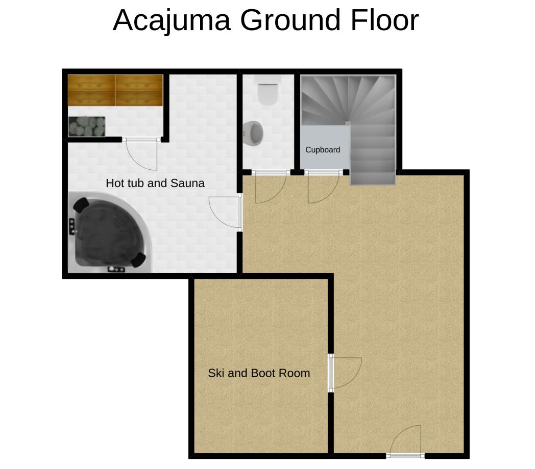 Chalet Acajuma Ground Floor
