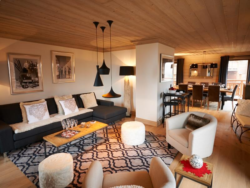 Chalet Sagarmatha in Courchevel