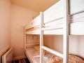 Sleeping Alcove with bunk beds