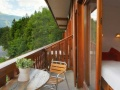Chalet Hotel Les Campanules - Balcony
