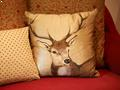 Reindeer Sofa Cushion