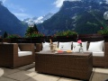 Terrace, Hotel Kreuz and Post, Grindelwald