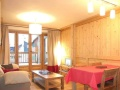 Living Area, Residence Le Cortina, Les Deux Alpes