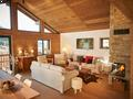 Chalet Clarines d'Or Living Area