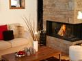 Chalet Clarines d'Or Fireplace