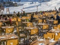Terrace, Hotel Courcheneige, Courchevel