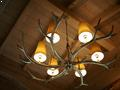 Chalet Everest Antler Lamp
