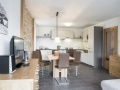 Residence Zell am See - Open-Plan Living Space