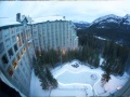 ice rink, Hotel Rimrock Resort, Banff