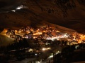 Le Belle Plagne at night