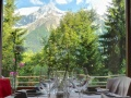 Chalet Hotel Les Campanules - Restaurant Mountain View
