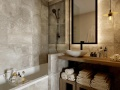 Bathroom, Ecrin Blanc, Courchevel