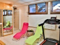 Hotel Le Tremplin Morzine fitness room